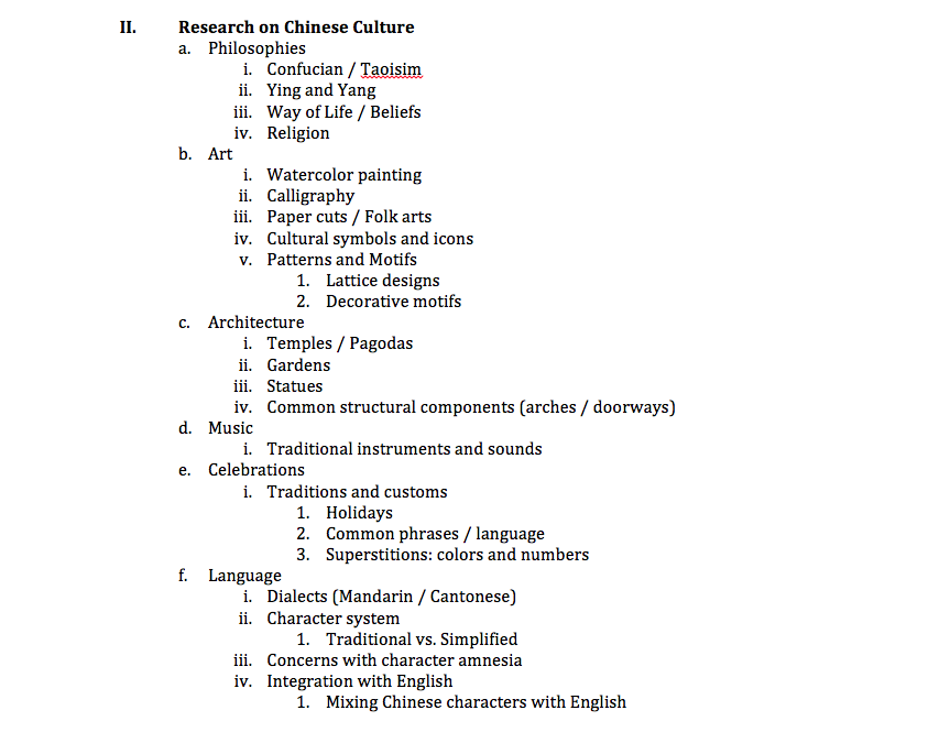 Apa Outline Format | Search Results | Calendar 2015