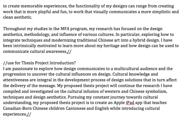 mfa thesis paper View mfa thesis research papers on academiaedu for free.